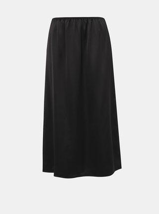 Černá midi sukně ONLY Mania