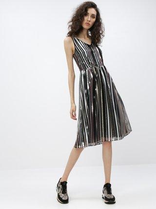 Černé flitrované šaty Dorothy Perkins