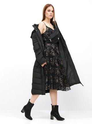 Černé květované šaty na ramínka Dorothy Perkins