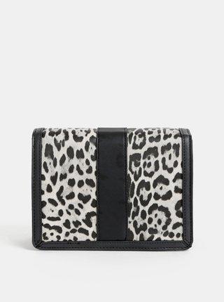 Šedá crossbody kabelka s leopardím vzorom Dorothy Perkins