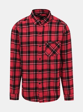 Červená kostkovaná košile Horsefeathers Rashid