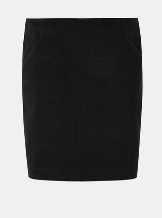Černá manšestrová sukně Tranquillo Cursa