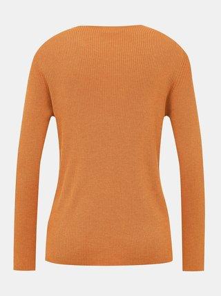 Oranžový basic svetr VILA Wendis