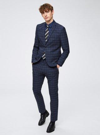 Tmavomodrá formálna slim fit košeľa Selected Homme Pen-Pelle