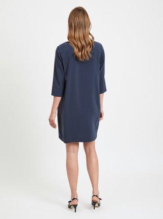 Tmavomodré šaty VILA Nathalia