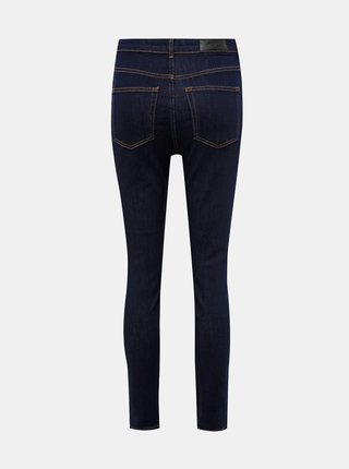 Tmavě modré skinny fit džíny VERO MODA Loa