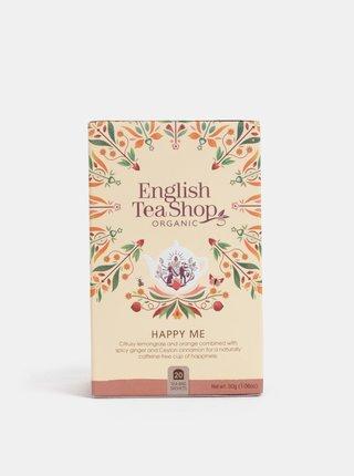 Bio bylinný čaj s citrónovou trávou, jablky, pomerančovou kůrou a kořením English Tea Shop Pocit štěstí
