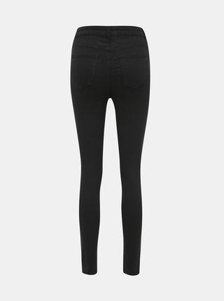 Černé skinny fit džíny s vysokým pasem TALLY WEiJL