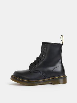 Černé kožené kotníkové boty Dr. Martens 1460