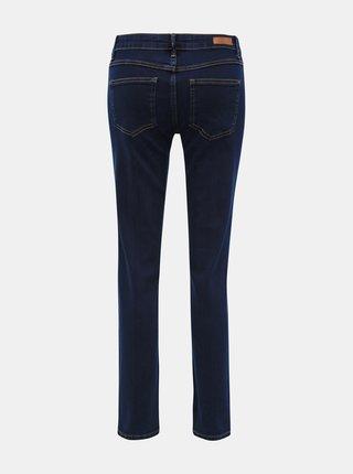 Tmavě modré straight fit džíny Jacqueline de Yong Danna