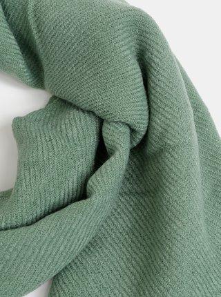 Zelený dámsky šál Haily´s Kitty