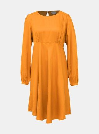 Oranžové šaty VILA Monnie