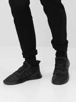 Čierne pánske tenisky adidas Originals U Path Run