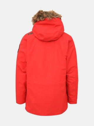 Červená pánská nepromokavá zimní bunda HELLY HANSEN Coastal