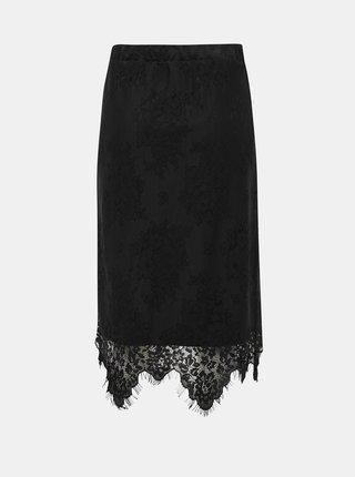 Čierna krajková sukňa Noisy May Jack