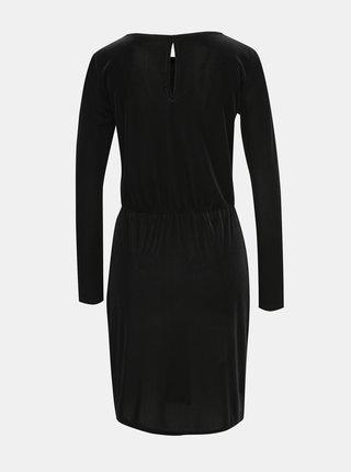 Čierne menčestrové šaty VILA Biana