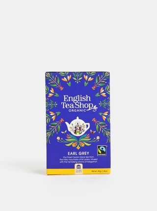 Organický černý čaj s bergamotem English Tea Shop Earl Grey