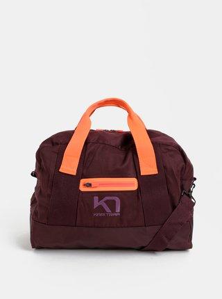 Fialová sportovní taška Kari Traa Lin Bag 27 l
