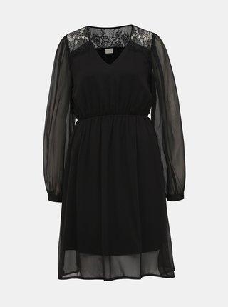 Černé šaty VILA Gracy