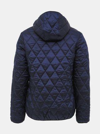 Tmavě modrá pánská prošívaná bunda SAM 73