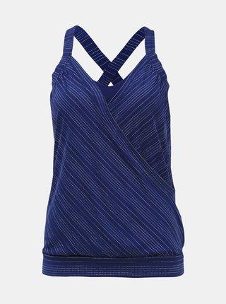 Modrý športový top prAna Kaewe