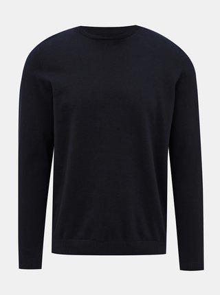 Tmavě modrý basic svetr Jack & Jones Basic