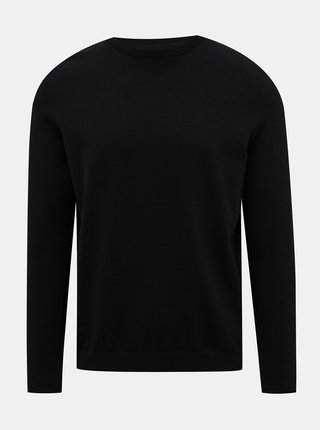 Čierny  basic sveter Jack & Jones Basic
