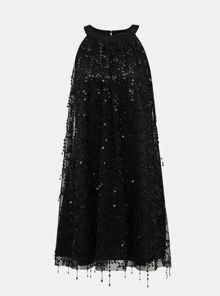 Černé šaty s flitry Dorothy Perkins