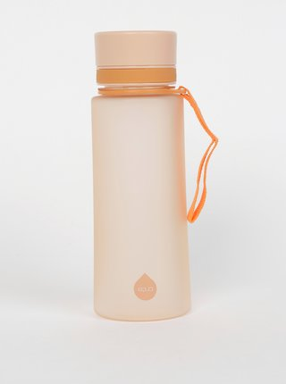 Oranžová plastová láhev EQUA 600 ml