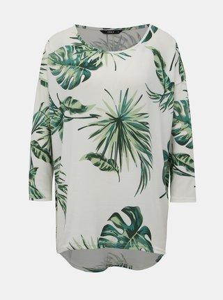Biely vzorovaný sveter ONLY Elcos