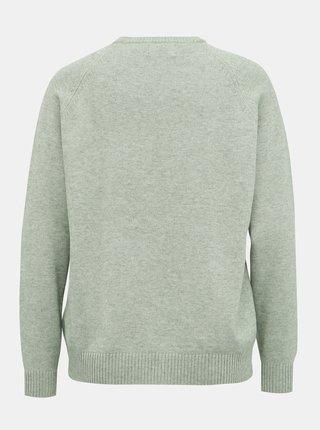 Svetlozelený basic sveter ONLY Lesly