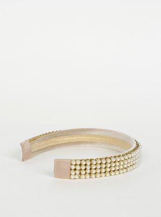 Čelenka ve zlato-krémové barvě VERO MODA Julie