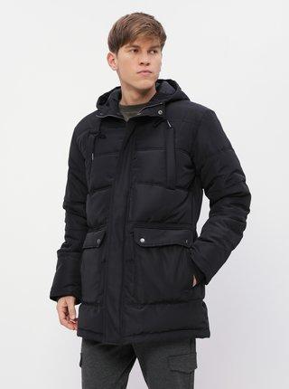 Čierna pánska prešívaná zimná bunda ZOOT