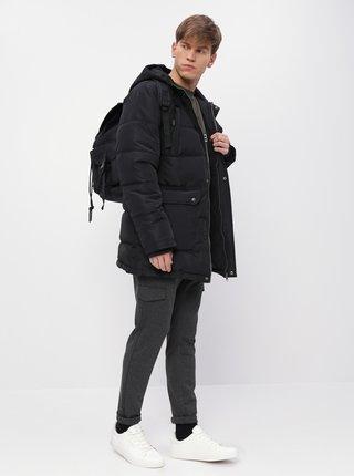 Černá pánská prošívaná zimní bunda ZOOT