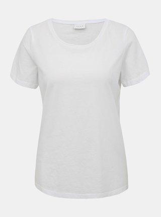 Biele basic tričko VILA Sus