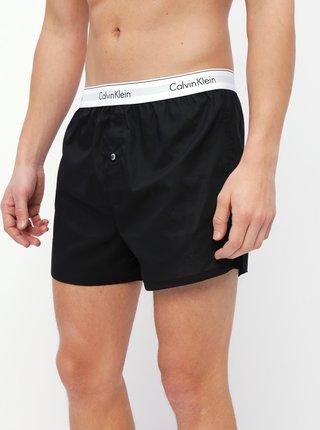 Sada dvou černých trenýrek Calvin Klein Underwear