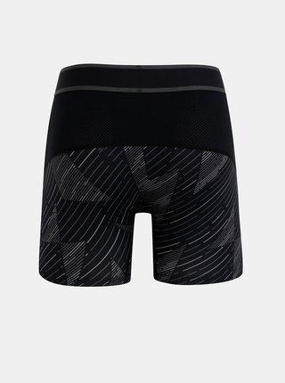 Čierne vzorované športové boxerky SAXX