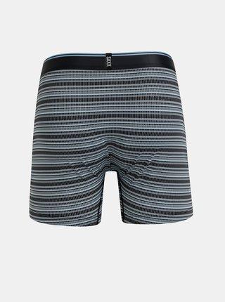 Modré pruhované boxerky SAXX