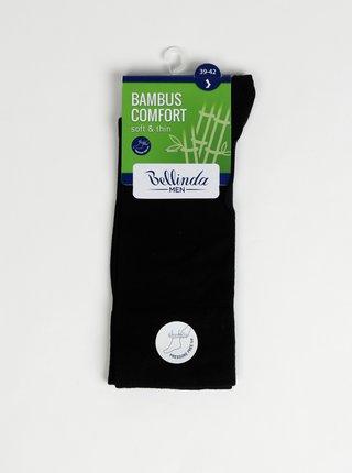 Pánské ponožky BAMBUS COMFORT SOCKS - Bambusové klasické pánské ponožky - černá