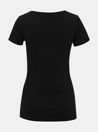 Černé dámské basic tričko ZOOT Dora