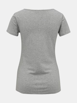 Šedé dámské basic tričko ZOOT Dora