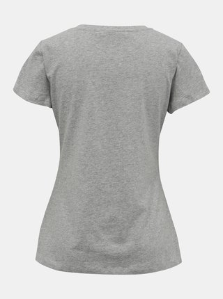 Šedé dámské basic tričko ZOOT Dana