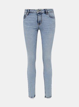 Světle modré skinny fit džíny VERO MODA Lydia