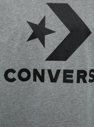 Šedé pánské tričko Converse