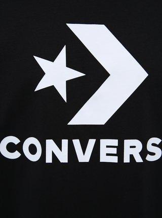 Čierne pánske tričko Converse