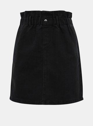Čierna rifľová sukňa Noisy May Judo