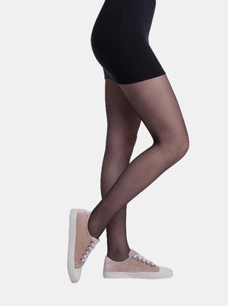 Sada dvou černých punčochových kalhot Bellinda Cool 20 DEN