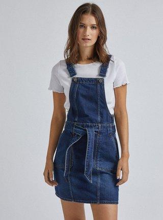 Tmavě modré džínové šaty s laclem Dorothy Perkins