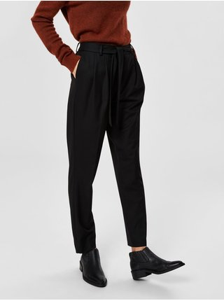 Čierne nohavice Selected Femme Bio
