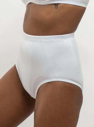 Biele sťahovacie nohavičky Dorina Janet